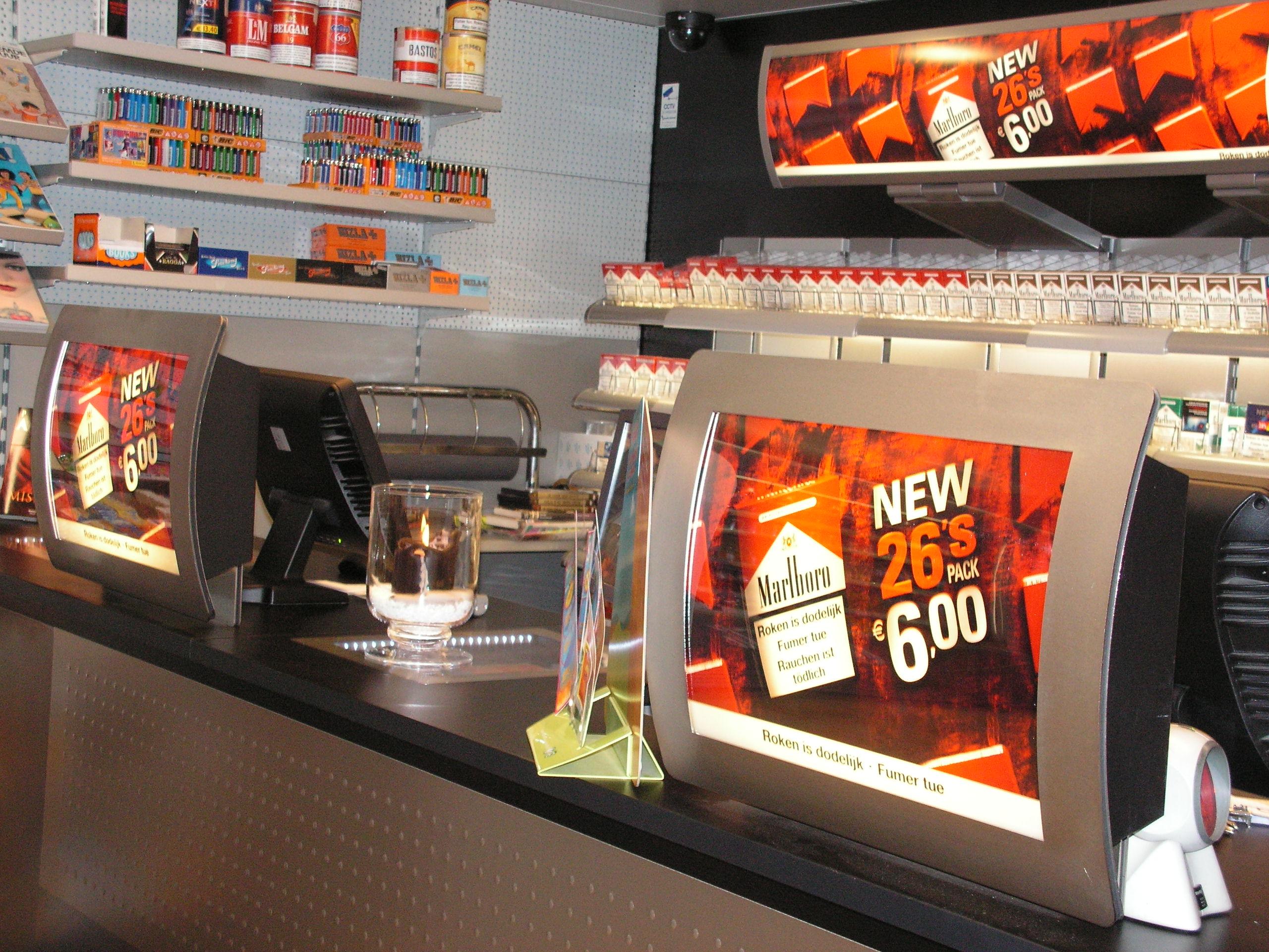 Tabaksreclame in uw winkel vanaf 1 januari nu echt verboden