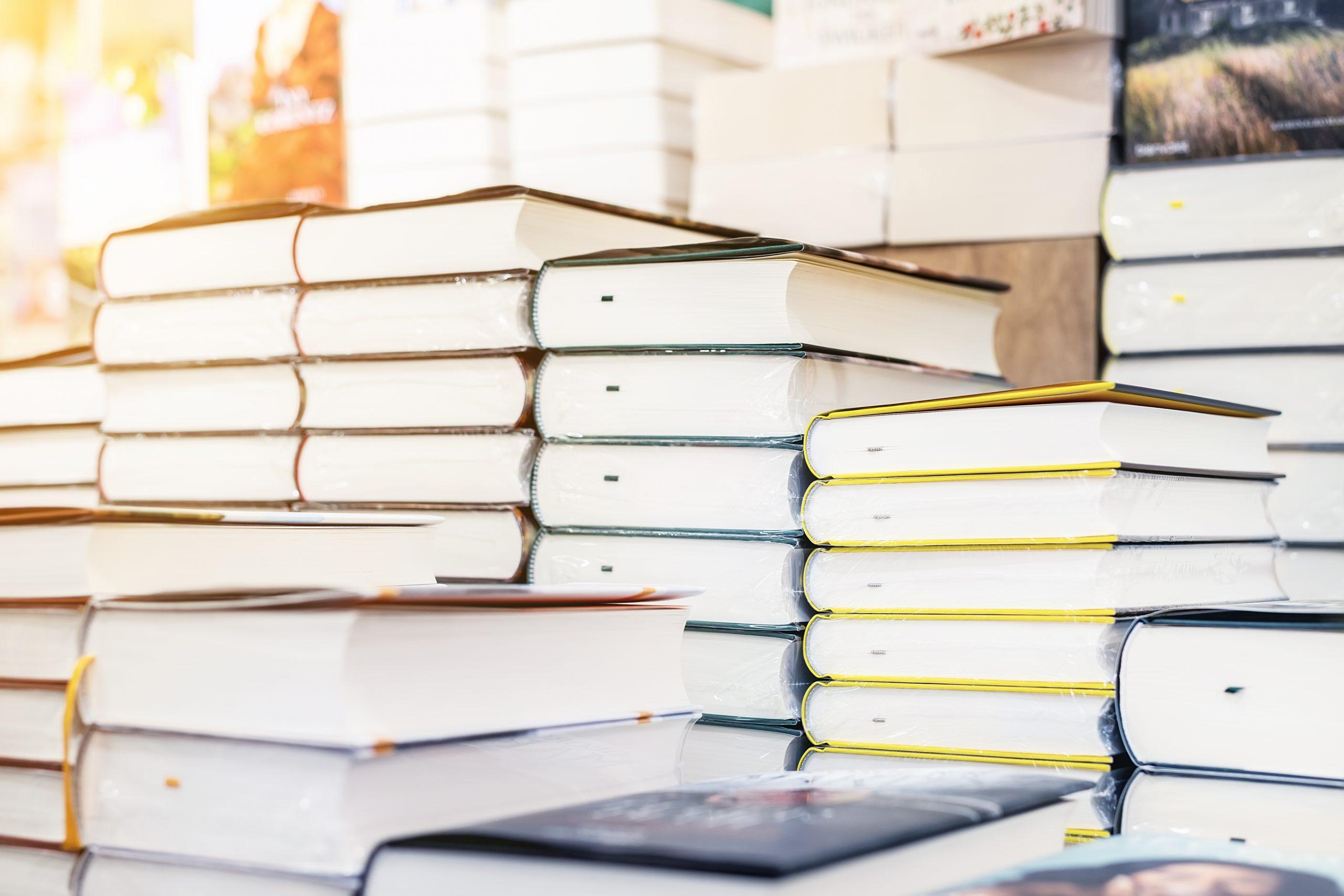 Boeken in de krantenwinkel vervallen in twijfelmodus