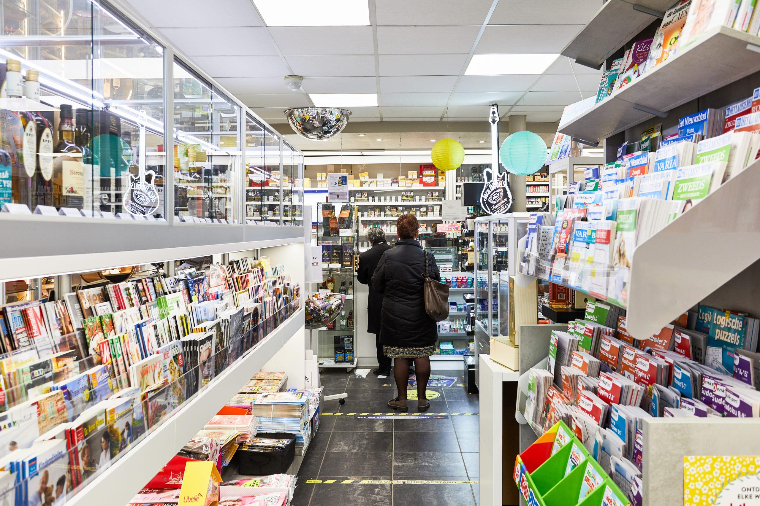 Krantenwinkels opdelen in winkeltypes: vele vliegen in één klap?